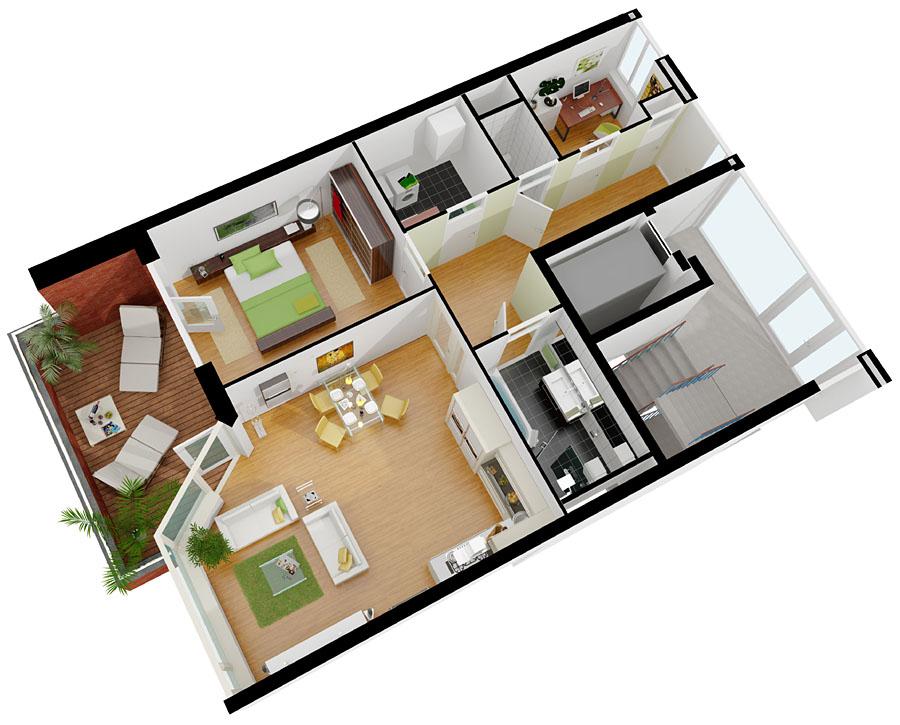 3d visualisatie artist impressions 3d animatie beste for Huis maken 3d