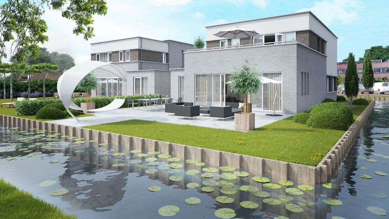 3d architectuurvisualisatie beste kwaliteit artist impressions voor beste prijs - Tuin exterieur ontwerp ...