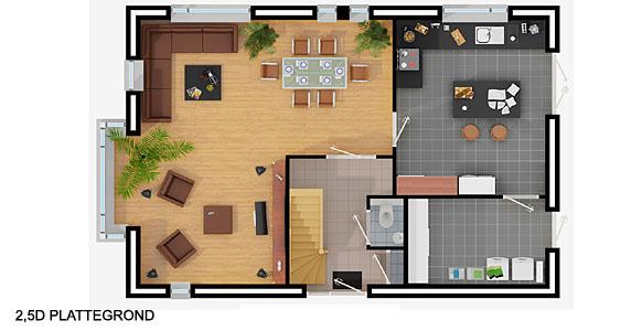 Plattegrond tekening maken alle soorten plattegronden for Beste grundrisse